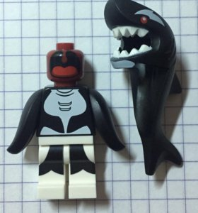 Lego Batman Movie Minifigure Orca