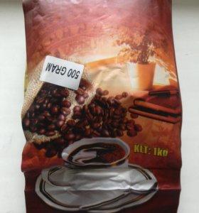 Кофе Лювак в зернах ,из Вьетнама,арабика+робуста