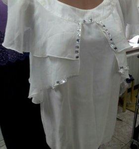 Блузка размер 44,46