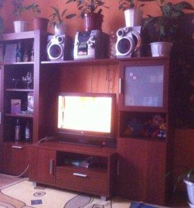 Стенка с TV тумбой