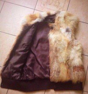 Продам жилетку из лисы