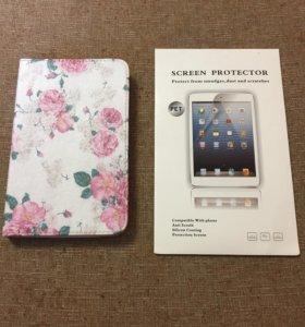 Чехол и пленка для Samsung Galaxy Tab 3 lite 7.0