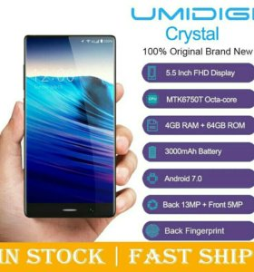 Umidigi crystal 4gb-64gb