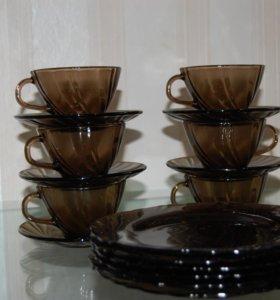 Чайный сервиз Vereco beau rivage (6 персон)