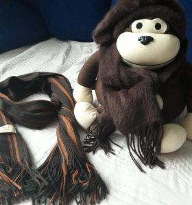 Берет+шарф +подарок