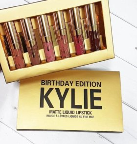 Набор матовых помад Kylie + ЛЮБОЙ КАРАНДАШ
