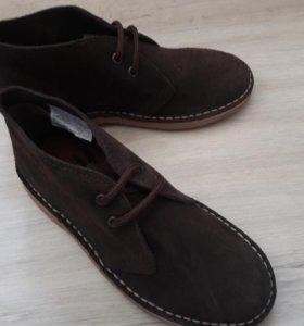 Ботинки унисекс новые (дезерты)