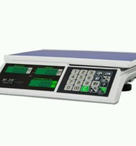 "Весы Mercury M-ER 326AC-15.2 LCD ""Slim"""