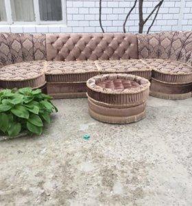 Диван+кресло+пуфик