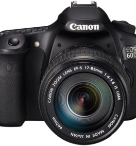 Canon 60d 17-85mm