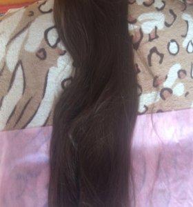 Волосы искусственные на заколках