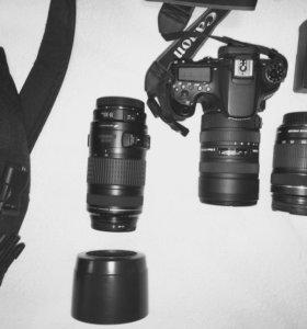 Canon 70d kit 18-135+Canon EF70-300+Sigma AF 8-16