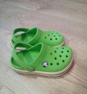 Сланцы, сандали crocs, крокс