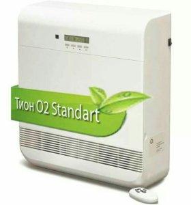 Новый очиститель воздуха Бризер Тион О2