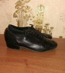 Туфли для бально-спортивных танцев.размер 19см