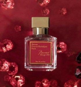 Baccarat Rouge 540 Maison Francis Kurkdjian