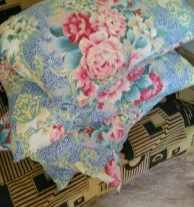 Новая подушка перо