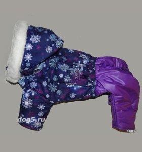 одежда теплые комбинезоны куртки для собак