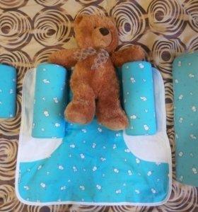 Детская ортопедическая подушка-конструктор
