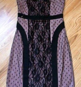 Платье гипюровое. Новое платье