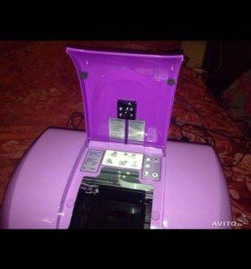 Принтер для печати на цветах и ногтях