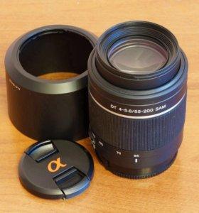 Объектив Sony DT 55-200 mm f/ 4-5.6 SAM