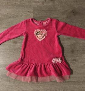 Платье для девочки 86 см