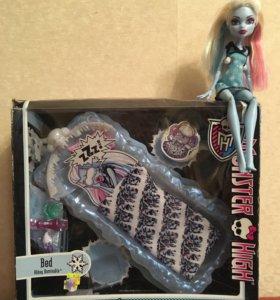 Кровать Эбби с куклой Монстер Хай