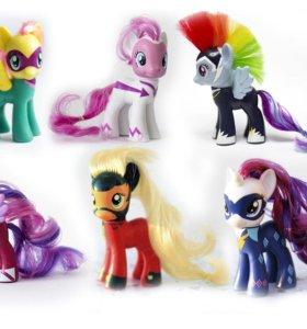 My little pony power - 6 штук пони набором