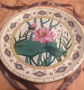 Декоративная тарелка. Подарок
