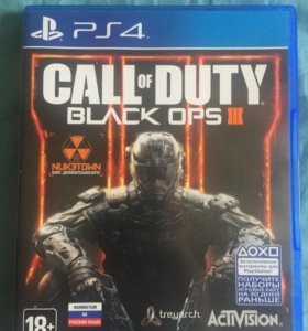 Call of duty black ops 3; игры ps4