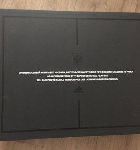 Официальный комплект футбольной формы adidas