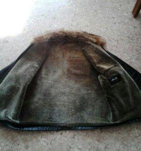 Куртка кожаная натуральная