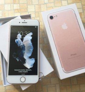 iPhone 7 32 gb rose (как новый)