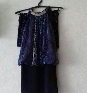 Платье Кактельное