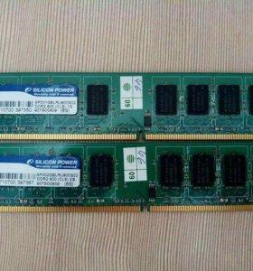DDR2, 800, 4 гб.