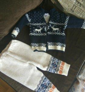 Кофта и штаны теплые