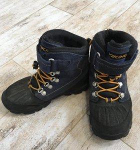 Viking зимние ботинки gore-tex, р.32