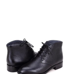 Демисезонные ботинки натур. Кожа