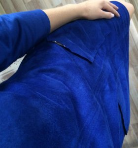 Платье новое, ткань замшевая🌸
