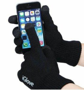 Перчатки iGlove для сенсорных телефонов.