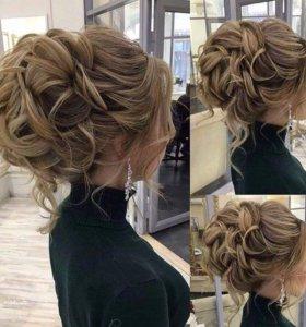 Свадебный стилист, вечерние причёски и макияж