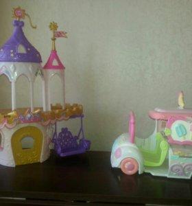 Машинка для пони и замок