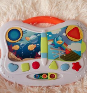 ☑Музыкальная игрушка Бабочка Fisher price