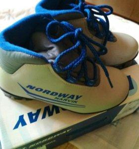 Ботинки лыжные,31размер