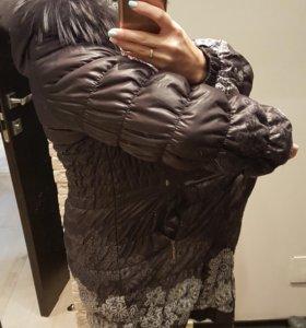 Теплая куртка для беременных осень-зима