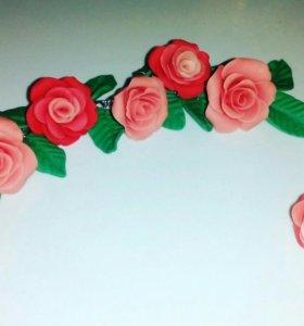 Браслет розы