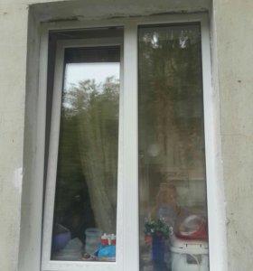 Окна пластиковые б/у