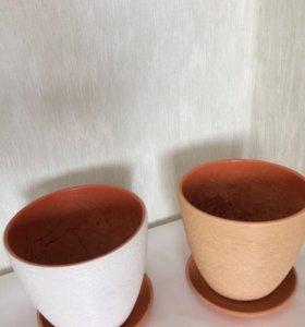 горшок для цветов (керамика)