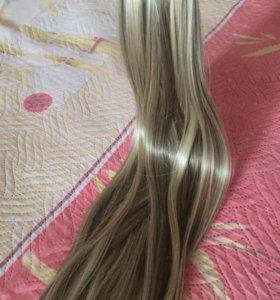 Волосы искусственные-термо.
